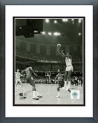 Michael Jordan North Carolina 1982 Game Winning Basket Vertical Framed Picture 8x10