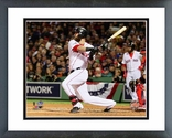 Mike Napoli 3 Run Double Game 1 of the 2013 World Series Framed Picture Framed Picture