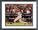 Mike Napoli Home Run Game 3 of the 2013 ALCS Action Framed Picture Framed Picture