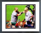 Mike Napoli & Jonny Gomes Game 4 of the 2013 World Series Framed Picture