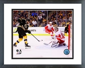 Milan Lucic 2013-14 Playoff Action Framed Picture