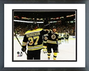 Patrice Bergeron & Milan Lucic 2013-14 Playoff Action Framed Picture