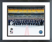 The Pittsburgh Penguins Team Photo 2011 NHL Winter Classic Framed Picture Framed Picture