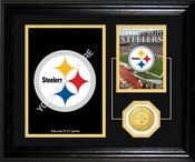 Pittsburgh Steelers Framed Memories Desktop Photo Mint Framed Picture