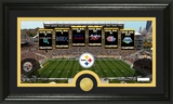 "Pittsburgh Steelers ""Traditions"" Bronze Coin Panoramic Photo Mint"