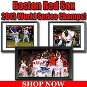Red Sox 2013 MLB World Series Champions Framed Pictures For Sale
