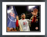 Ryan Dempster celebrates winning Game 6 of the 2013 World Series Framed Picture