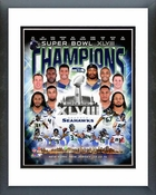 Seattle Seahawks Super Bowl XLVIII Champions Composite Framed Picture