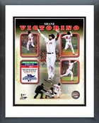 Shane Victorino 2013 ALCS Grand Slam Composite Framed Picture