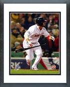 Shane Victorino 3 Run Double Game 6 of the 2013 World Series Framed Picture