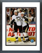 Sidney Crosby & Evgeni Malkin 2008-09 Group Shot Framed Picture Framed Picture