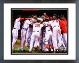 The Boston Red Sox Celebrate Winning Game 6 of the 2013 ALCS Framed Picture