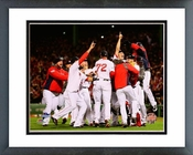 The Boston Red Sox celebrate winning Game Six of the 2013 World Series Framed Picture