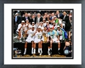 The San Antonio Spurs Celebrate Game 5 of the 2014 NBA Finals Framed Picture