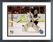 Tuukka Rask 2013-14 Playoff Action Framed Picture