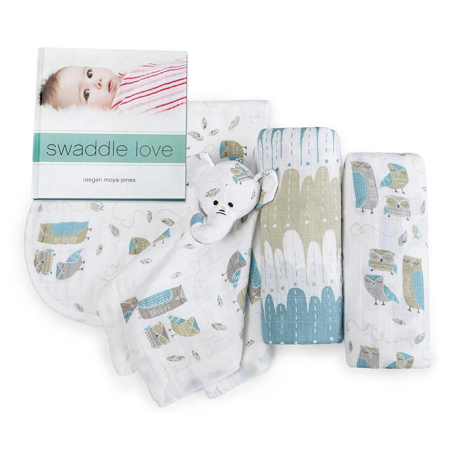 Aden+Anais Organic New Beginnings Gift Set - WIse Guys