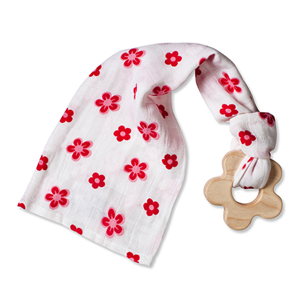 Aden+Anais Princess Posie Flowers Teething Toy