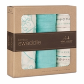 Aden and Anais Bamboo Swaddle Blankets - 3 pack