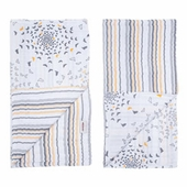 Bebe au Lait Muslin Collection - Blankie/Burp Cloth Set