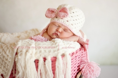 Daisy Baby Hat in Ellie May