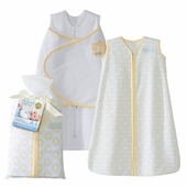 Halo SleepSack Two-Piece Gift Set - Yellow Moon and Stars