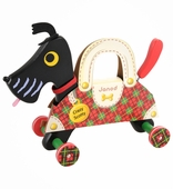 Janod Crazy Scotty Wooden Pull Toy
