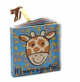 "Jellycat ""If I Were A Giraffe..."" Faux-Fur Tail Book"