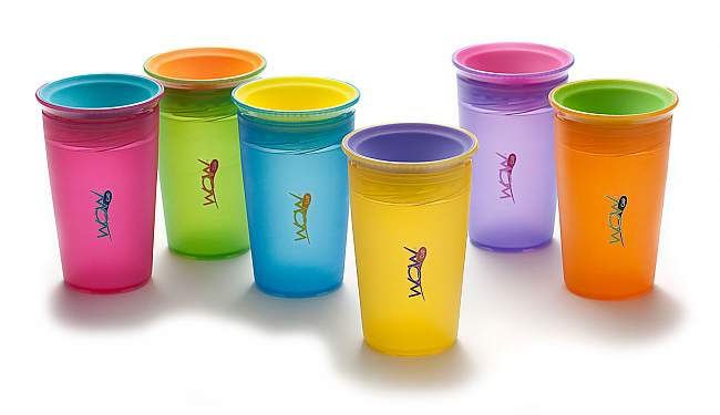 Juicy! Wow 9oz. Spill-Free Cup