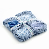 Kahiniwalla Pebble Crochet Patchwork Blanket