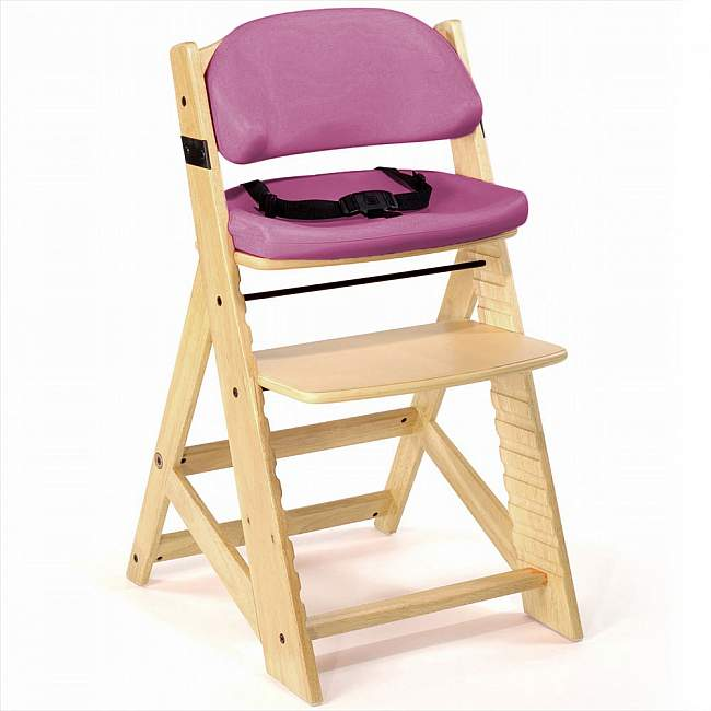 Keekaroo Kids Chair with Comfort Cushion in Natural