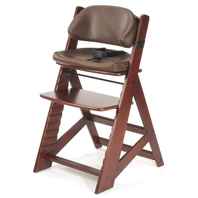 Keekaroo Kids Chair with Comfort Cushion in Mahogany