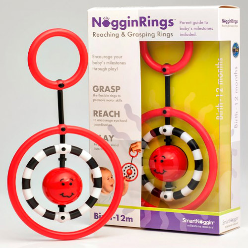 NogginRings Reaching and Grasping Rings
