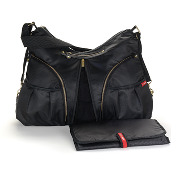Skip Hop Versa Diaper Bag in Black