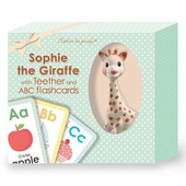 Sophie the Giraffe Teether and ABC Flashcards