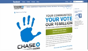 Chase Community Giving Challenge<br>Voted Top 8 - $25k Winner!