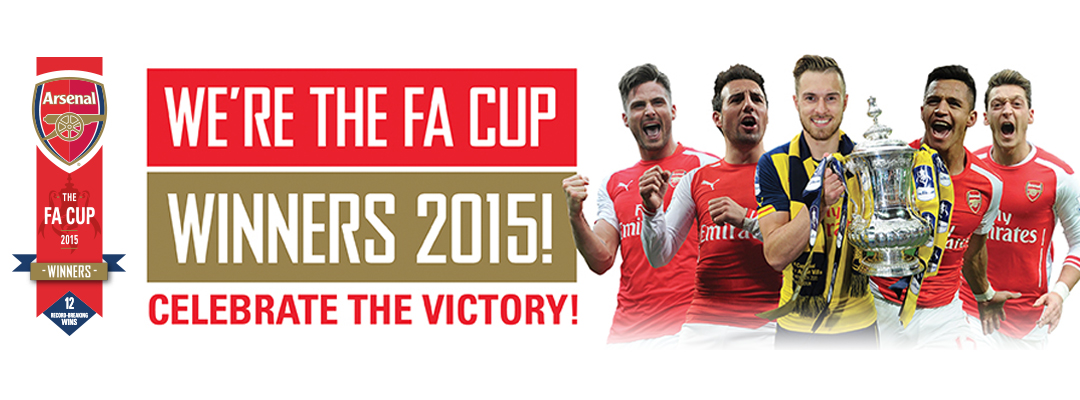 The FA Cup Winners 2015