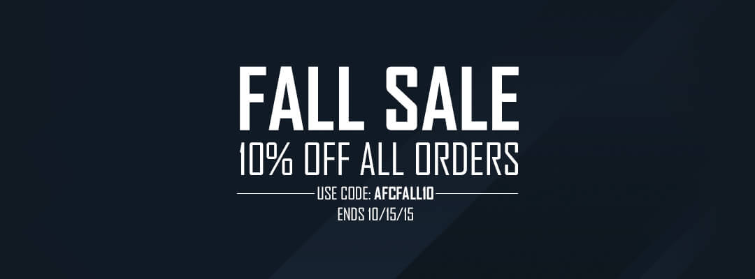 Arsenal Fall Sale!