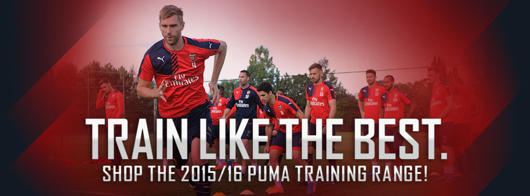 Arsenal PUMA Training Gear