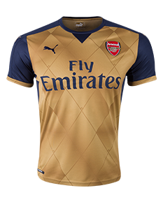 Arsenal 15/16 Away Jersey