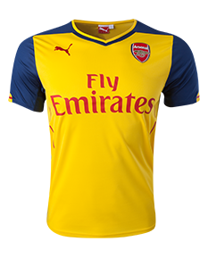 Arsenal 14/15 Away Jersey