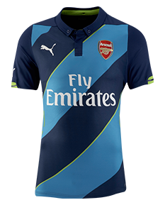 Arsenal 14/15 Third Jersey