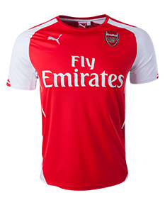 Arsenal 14/15 Home Jersey