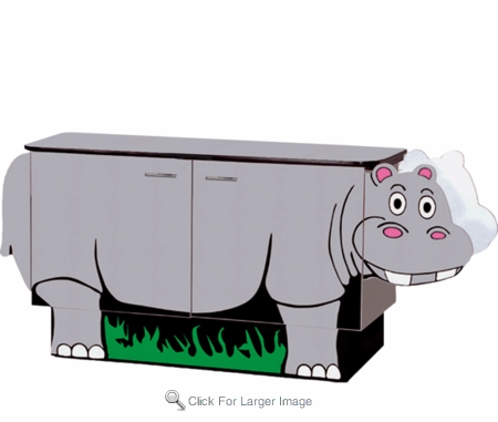 Hippo Changing Table