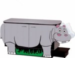 Hippo Toddler Changing Table