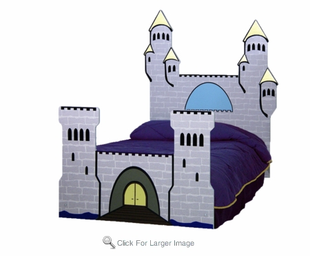 Majestic Castle Bed