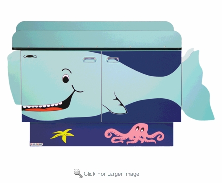 Whale Changing Table