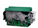 Zebra changing table