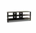 "57"" Wide Black TV Stand - TechCraft BEL57B"