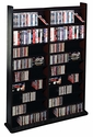 Leslie Dame CD-1000B -  Wall CD Racks