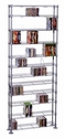 Max - 12 Tier Adjustable - CD DVD Storage Racks - Atlantic - 63135237